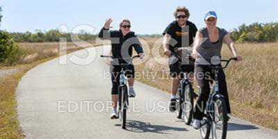 stock photo of bikers